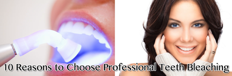 10 Reasons to Choose Professional Teeth Bleaching in San Diego