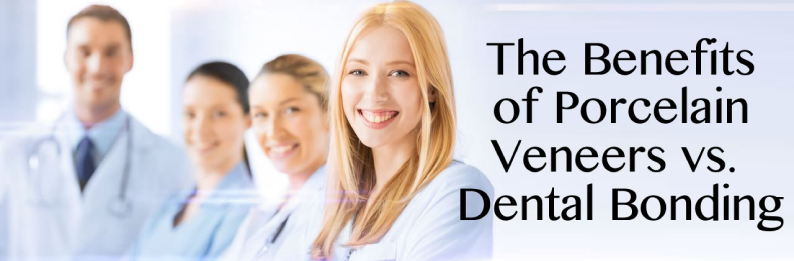 The Benefits of Porcelain Veneers vs. Dental Bonding in San Diego